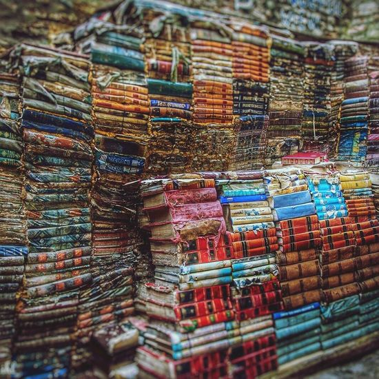 Multi Colored Large Group Of Objects No People Venise Venezia Venice Scenics Books Libreria Venezia Acqua Alta Close-up Travel Photography Travel Travel Destinations Sightseening