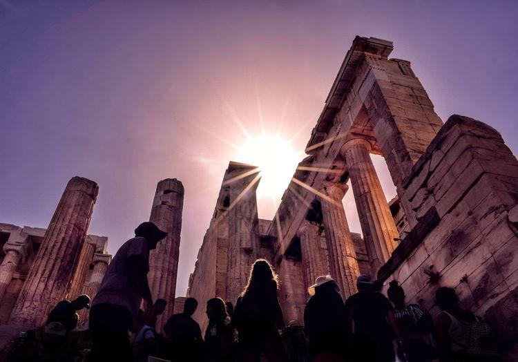 Akropolis...