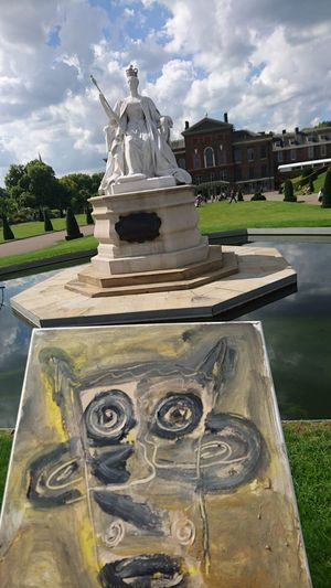 Kensington Palace Artcrossing Been There. EyeEmNewHere AI Now Shades Of Winter