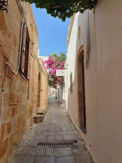 small lane in