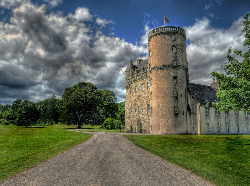 Castle Fraser First Eyeem Photo Scotland 💕 Aberdeenshire No People Castle Fraser National Trust HDR Castle Nts