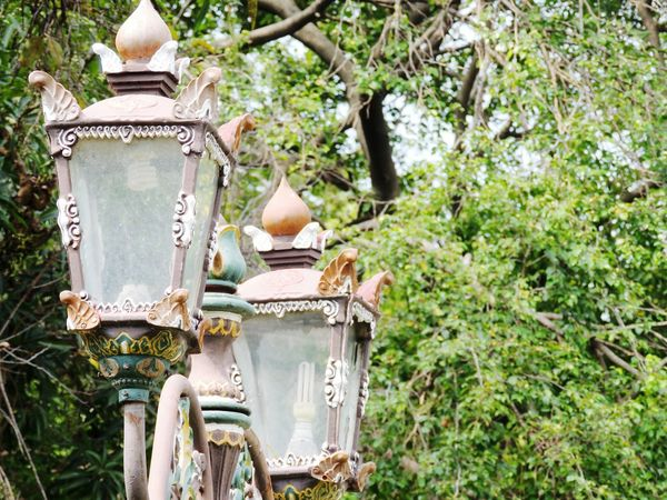 Visit Indonesia Classic Vintage Old But Gold Palace Keraton Kasepuhan Lamps Lamp Vintage Lamp Street Lamp Street Lamps Lamp Post in Cirebon  , INDONESIA