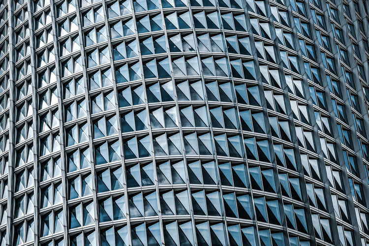 Pattern Full Frame No People Architecture Built Structure Backgrounds City Building Exterior Building Repetition Office Building Exterior Modern Glass - Material Low Angle View Day Blue Office Design Sunlight Outdoors Skyscraper Ceiling Modern Modern Architecture Tropical Architecture Abstract The Architect - 2019 EyeEm Awards