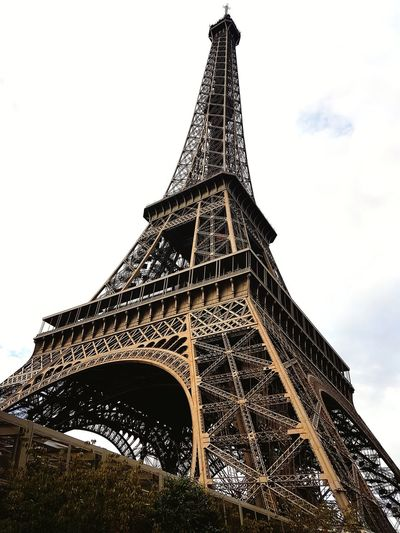 Architecture Built Structure Travel Destinations Day Sky Cloud - Sky Outdoors City Building Exterior History Eiffel Tower Eiffeltower Paris Paris, France  Monument