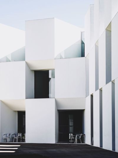 Aire Mateus Geometric Shape Graphic Straight Lines Minimalism Architecture Built Structure Building Exterior Building Day No People City White Color Outdoors Modern Sunlight Architecture Modern