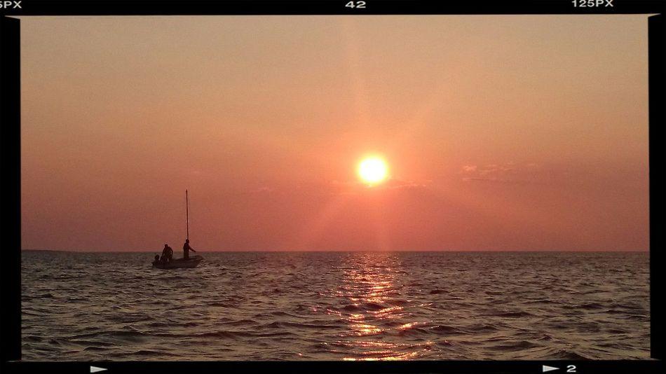Selve, tramonto sul mare. E senza filtri! Sunset
