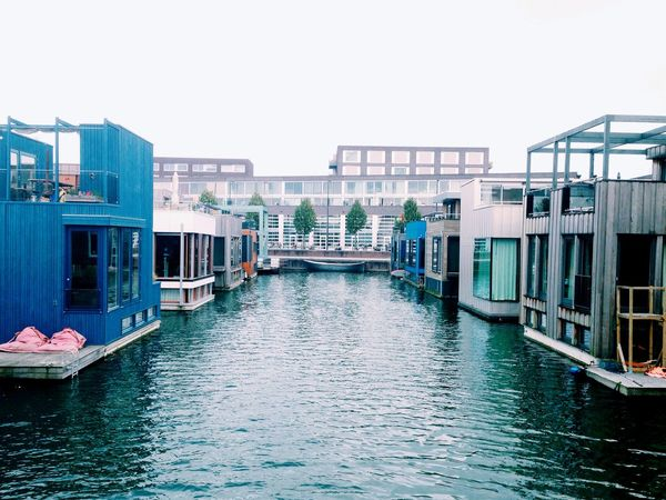 Floating House Architecture Amsterdam