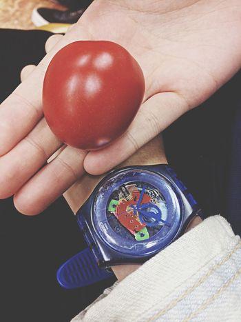 BIG Tomato Blue Swatch