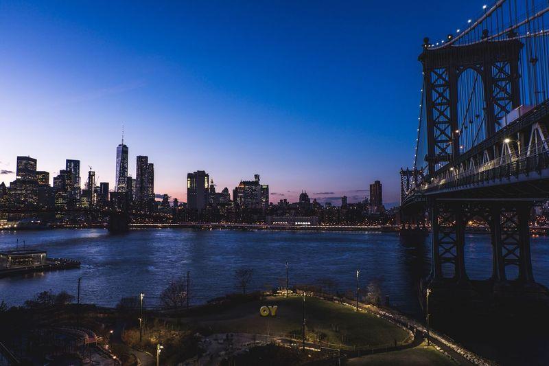 Battle Of The Cities New York Manhattan Bridge Sunset EyeEm Best Shots EyeEm Gallery EyeEm Best Edits EyeEm EyeEmBestPics Eyeemphoto Eyeemphotography