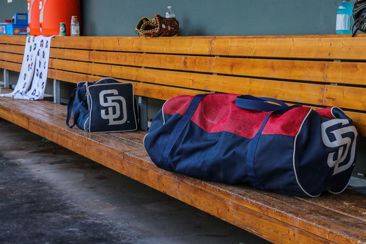 El Paso Chihuahuas Baseball Absence Architecture Baseball - Sport Blue Capital Letter Communication Day High Angle View Indoors  No People Number Railing Relaxation Sport Still Life Table Text Textile Western Script Wood - Material