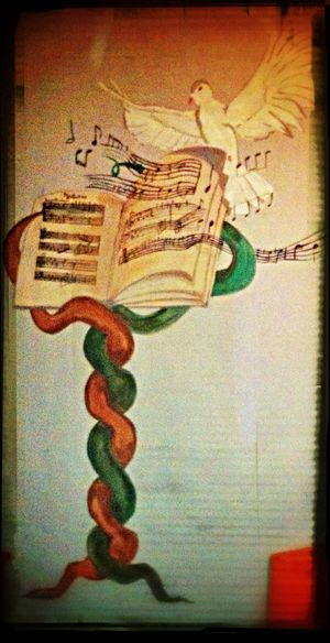What Does Music Look Like To You? Music Room Decor