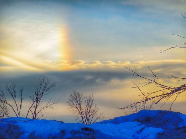 Snowrainbowlove. Check This Out Pretty Streamzoofamily Sunset #skyporn #cloudporn # Bestskyever #gorgeous # Beautiful #stunning