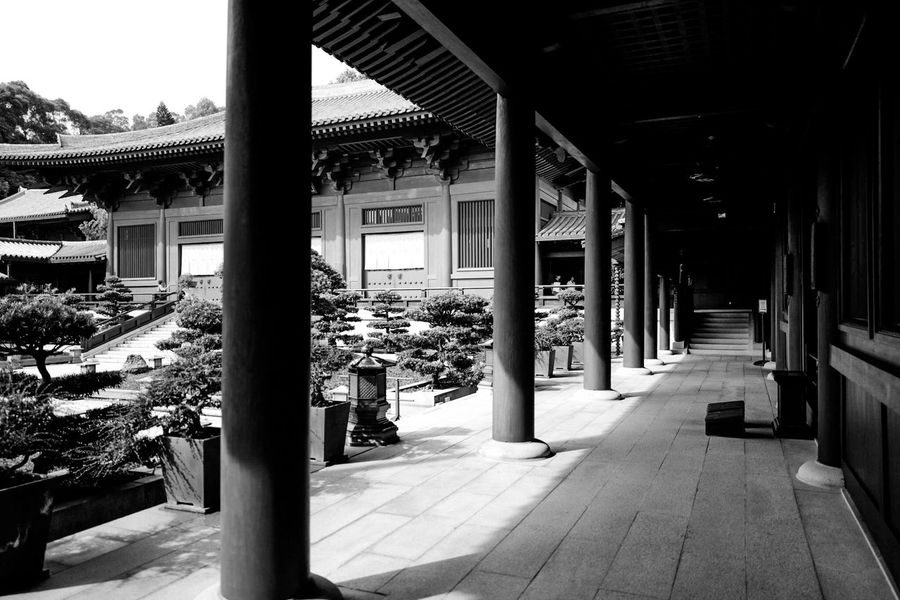 HongKong Discoverhongkong Leicaq Black And White Blackandwhite Nunnery Diamondhill Black & White Darkness And Light Shadows & Lights EyeEm Gallery EyeEm Best Shots EyeEm Best Edits Hello World Our Best Pics 香港 Wonderful Taking Photos Traveling Temple 白黒 寺院
