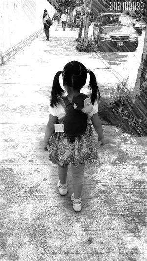 Ella People Photography Edition Black & White Blanco & Negro  Urban Life Street Family