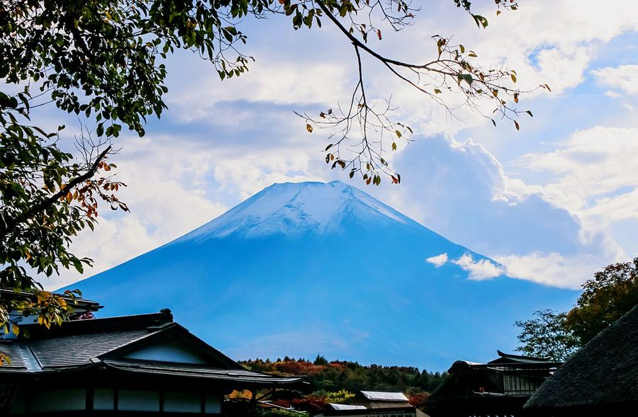 A Series Of Fuji Mountain's Picture -7 Mt.Fuji Fuji Mountain Beautiful Nature EyeEm Best Edits Autumn Fujimountain Eye Em Nature Lover Mountain View Autumn Leaves Natural Beauty