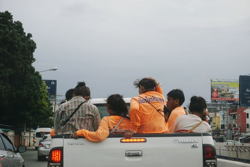 Incar Car EyeEm Community Morning Road Working Strong