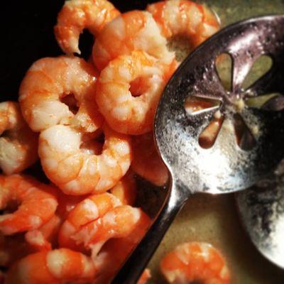 {instagram post} shrimp scampi #food #photography #latergram Food Photography Latergram