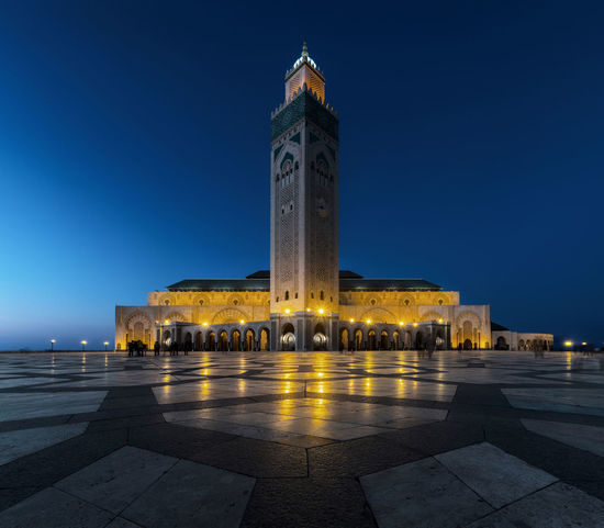 Hassan II Mosque - Casablanca Casablanca Hassan II Mosque Morocco Architecture Building Exterior Built Structure Illuminated Mosque Mosques Of The World No People Outdoors Religion Sky Travel Destinations