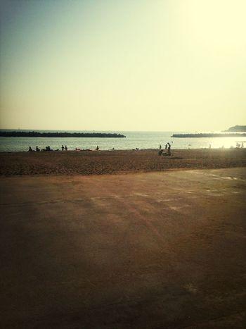 海綺麗だな、