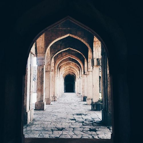 We don't see things as they are, we see things as we are. @ Jami Masjid, Mandu Infiniteperceptions _soi BringThePhoneBack Indiapictures vscocam
