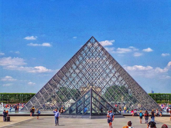 Louvre Holidays Architecture Europe