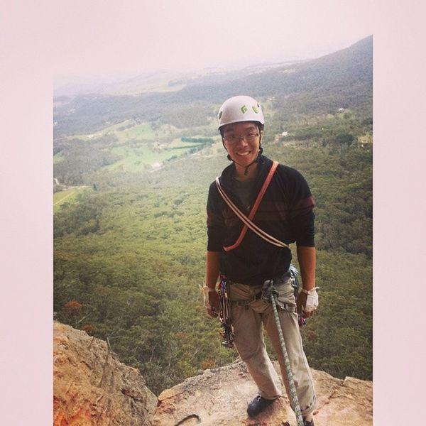 At the belay! Tapeglove Climbing Alldayeveryday