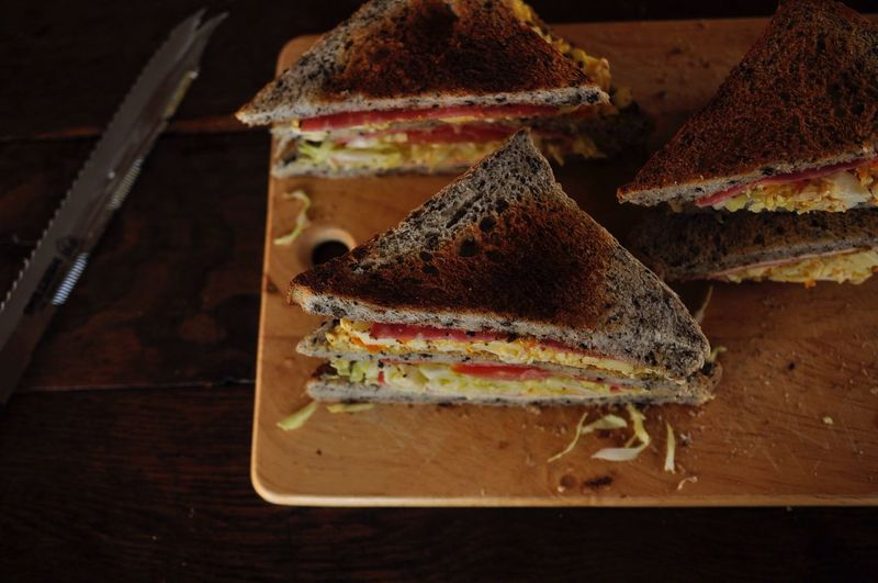 Everyday Joy sandwich