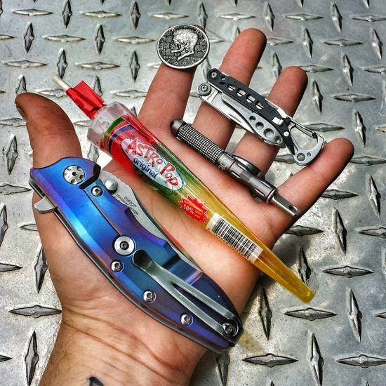 Knifeporn Everydaycarry EDC Leatherman Zero Tolerance 0562cf M390 Pocketdump Candy Hobocoin