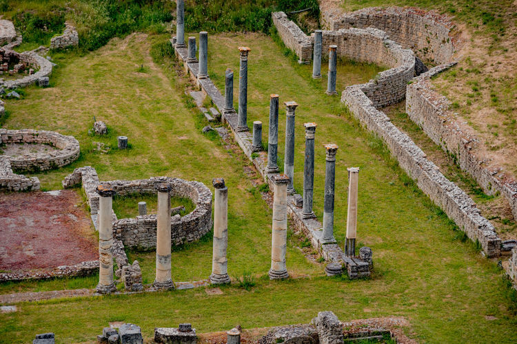 Ancient Ancient Civilization Cemetery Day Grass Green Color History Memorial Nature No People Old Ruin Outdoors Stone Material The Past Tombstone Travel Destinations