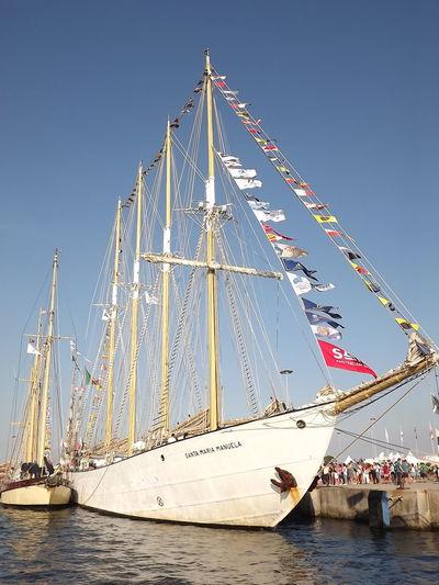 Culture Day Ilhavo Outdoors Portugal Sailboat Santa Maria Manuela Ship Sky Tall - High Tourism Water No Filter, No Edit, Just Photography