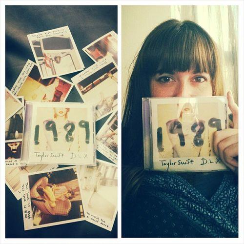 Finally!!! 1989 Taylorswift NEWALBUM Crying Totalfangirl Swifty Tswizzle Areweoutofthewoodsyet