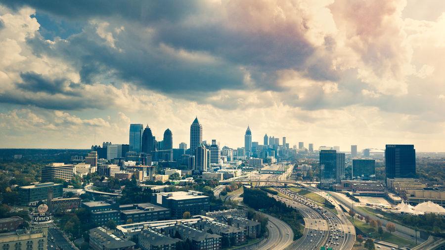 Cityscape Skyline Atlanta ATL Dji DJI Mavic Pro Outdoors Travel Destinations City Life High Angle View Downtown District
