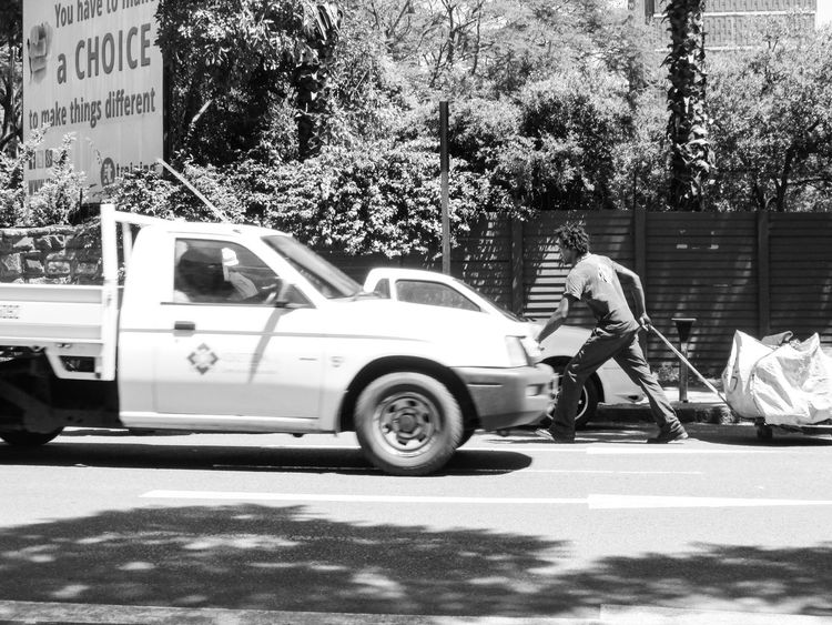 .. while consuming this environment, the caterpillar begins to notice ways to survive.. South Africa Pretoria EyeEm Selects Land Vehicle Car EyeEmNewHere Tree Homeless Man Street Photography Blackandwhite Streetphotography Streetphotography_bw Black And White
