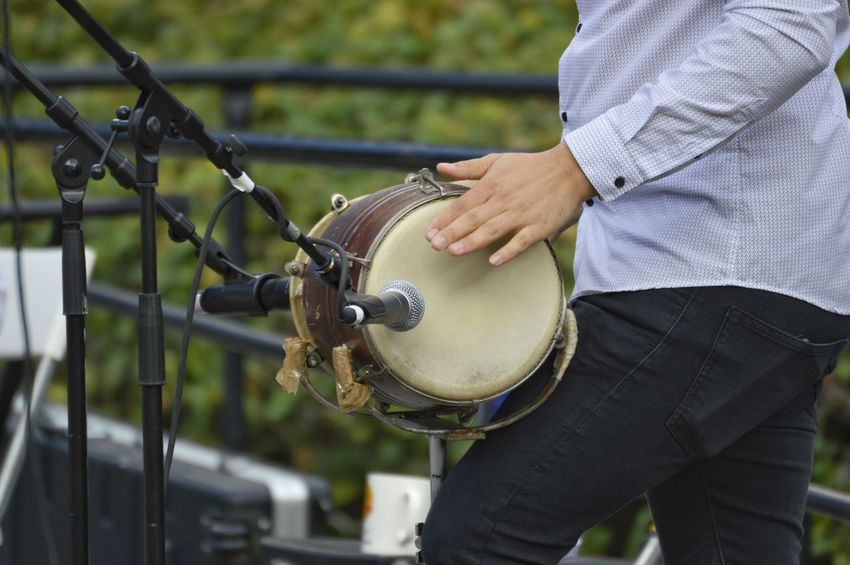 Outdoors Music Live Music Drum Man Park Park - Man Made Space Musician City Park Close-up Casual Clothing Wearing #urbanana: The Urban Playground Summer In The City
