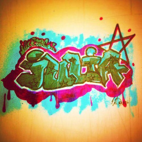 Graff by me, Julia..