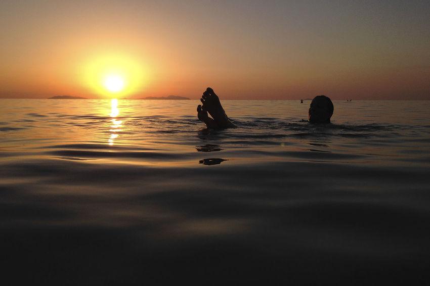 relaxing eolian Eolian Islands Relaxing Sicily Beauty In Nature Horizon Over Water Nature Sunset Swimming Tranquil Scene Women Perspectives On Nature Be. Ready. Perspectives On Nature Be. Ready. The Traveler - 2018 EyeEm Awards