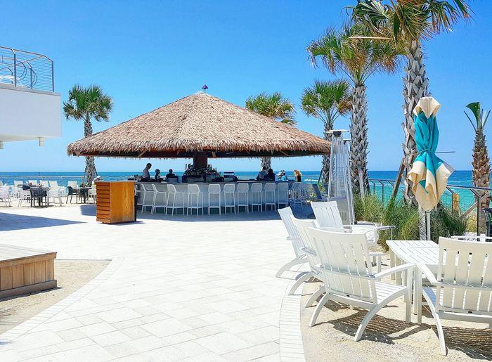 Tiki hut Tiki Tikibar Bar Hut Vacation Oceanview Summer Water Sun Drinks Florida Restaurant
