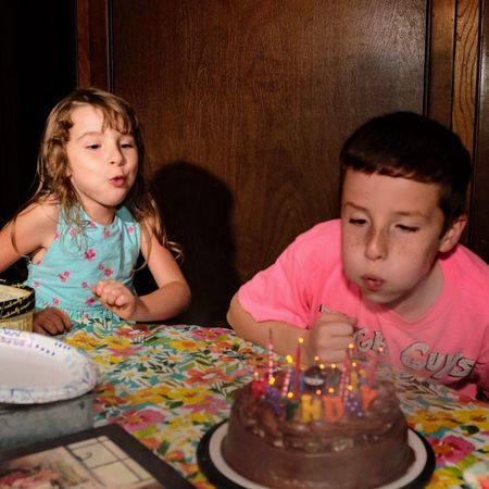 Visual Journal September 03, 2018 Village of Western, Nebraska A Day In The Life Always Making Photographs Camera Work Everyday Joy EyeEm Best Shots Getty Images Happy Birthday Photo Essay Victor Ramos Visual Journal Birthday Birthday Candles Blowing Out The Candles Boys Candid Moments Casual Clothing Child Childhood Decisive Moment Documentary Eye For Photography Family Females Front View Fujifilm_xseries Girls Headshot Indoors  Innocence Long Form Storytelling Make A Wish Males  Men Nine Years Old Offspring Photo Diary Portrait S.ramos September 2018 Sister Table Togetherness Two People Women