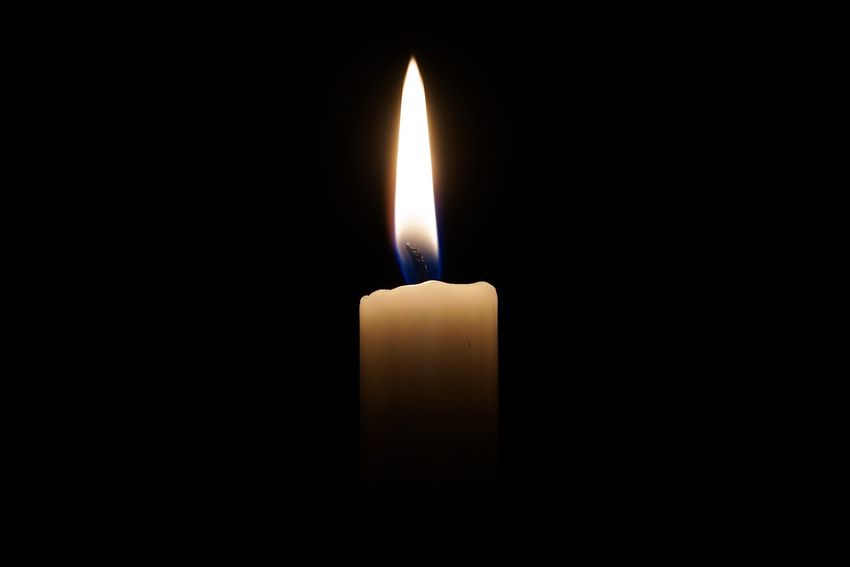 candle #candles #Heat #darkness #FLAME #fire Illuminated Black Background Yellow Single Object