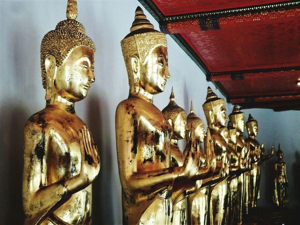 Religion Statue Spirituality Sculpture Buddhas Buddhashand Bangkok Thailand. Pagoda