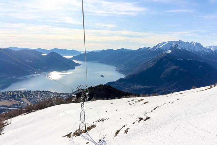 View on the lago maggiore