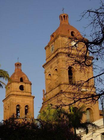 A church selfie in downtown Santa Cruz, Bolivia. DeLeonStrong