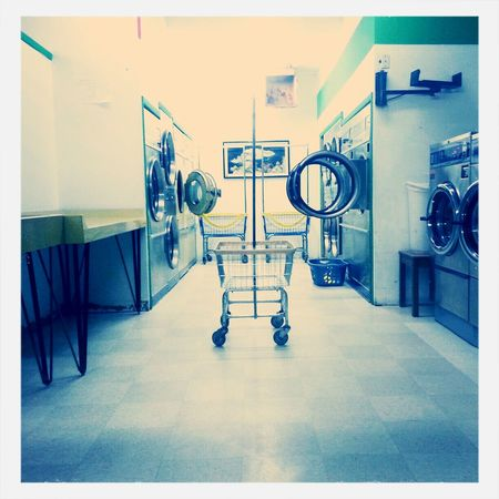Laundry Time Laundry Mat Carts Dryers