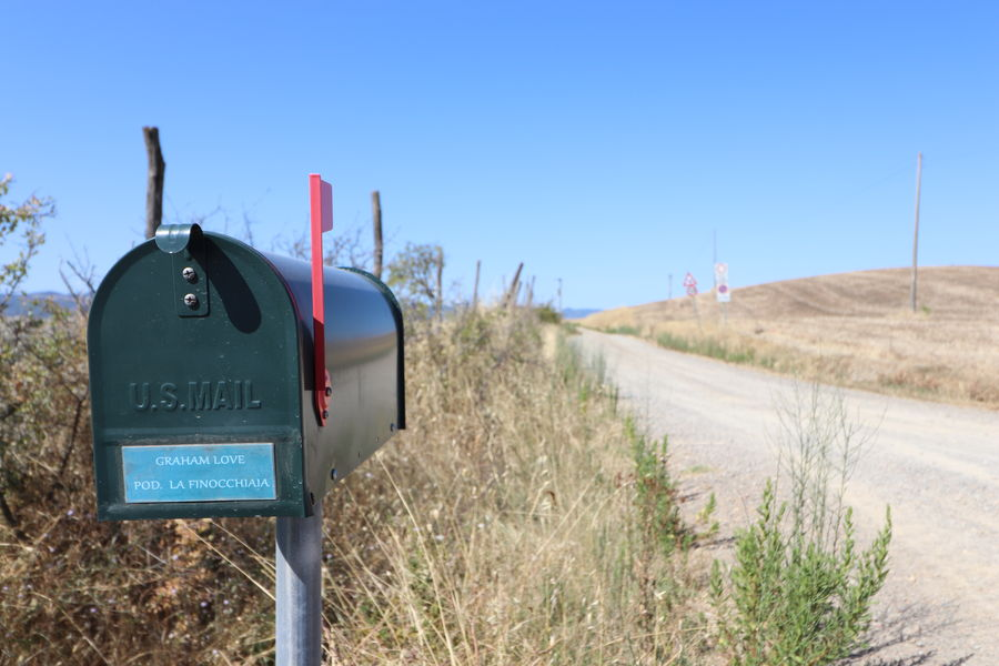 Letters for you Freedom Letters MR7 Toscana Blue Canon Clear Sky Communication Countryside Day Eos77D Grass Italy Nature No People Outdoors Poetry Road Sky Text Usmail