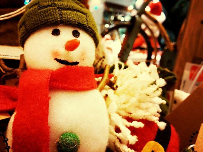 Hi there Mr. Snowman Christmas Manual Focus Lg G2 Taking Photos