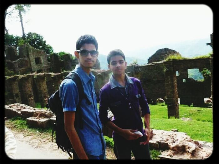 thats me with Alqama, Hello World <3 In Murree, Pakistan