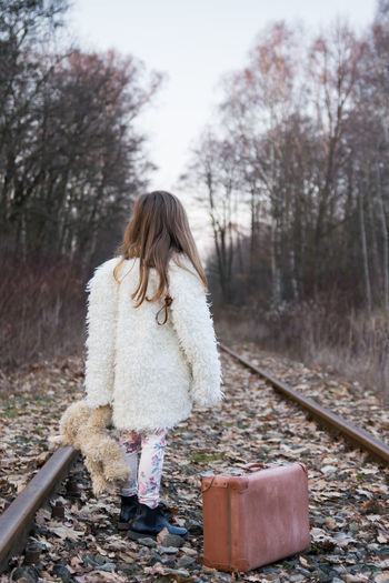 Abandonment Issues Baby Loneliness Trip Baby Travel Babygirl Girl Lonely Child Lonely Girl Nostalgia One Person People Track Trip Photo