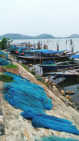 So Many Fishermens Boats Are On Chilika Lake,Rambha Odisha