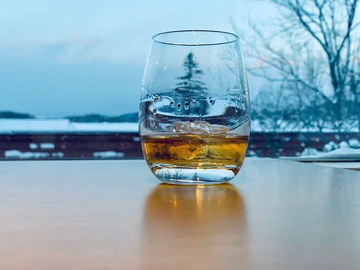 Snow whiskey