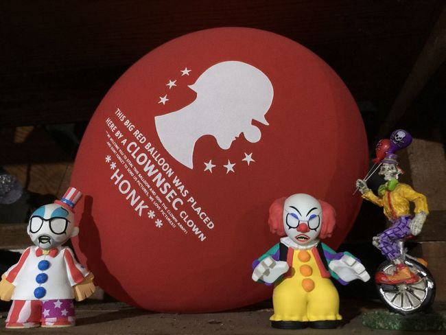 Clownsec Street Art Streetart Street Art/Graffiti Balloon Clown Clowns Pennywise EvilClowns